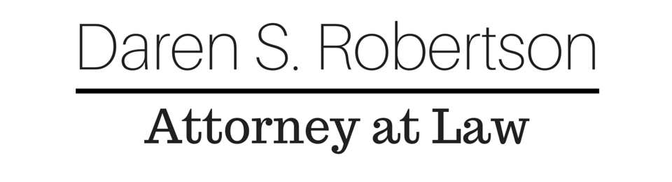 Daren S. Robertson Attorney at Law
